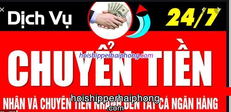 Ưu điểm của hoishipperhaiphong.com với dịch vụ chuyển tiền nạp tiền ngân hàng ngoài giờ