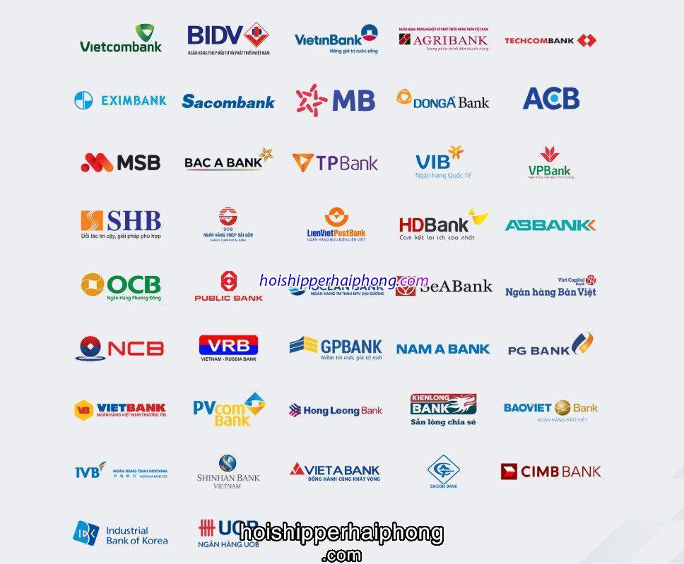 Chuyển khoản liên ngân hàng đến những ngân hàng nào