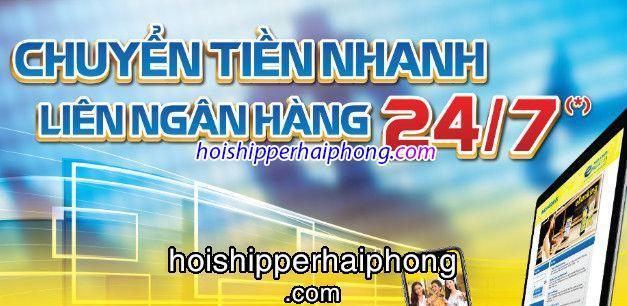 Dịch vụ chuyển khoản banking 247 phục vụ tại các quận huyện của Hải Phòng