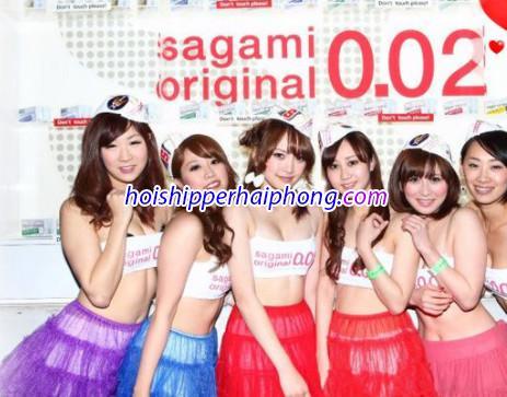 Bao Cao Su Siêu Mỏng Sagami Original 0.02 tại hải phòng