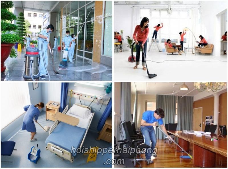 Dịch vụ vệ sinh nhà cửa Hải Phòng