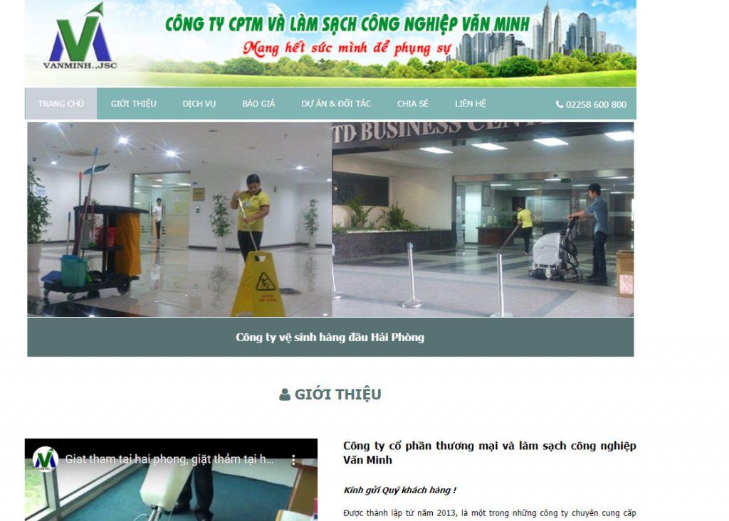 làm sạch công nghiệp Văn Minh