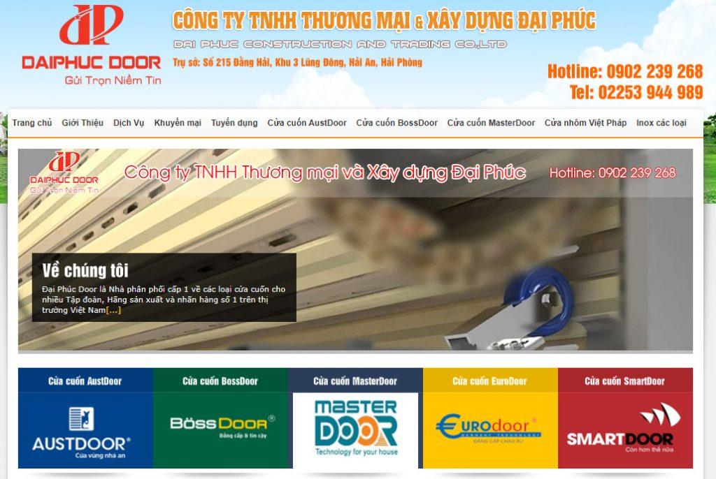 Công ty TNHH thương mại và xây dựng Đại Phúc